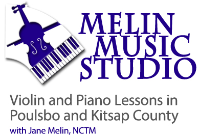 Violin + Piano Lessons in Poulsbo and Kitsap County